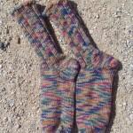 Deserted socks in the desert!